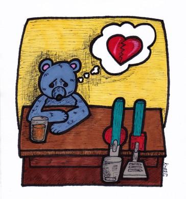 Bear in a Bar