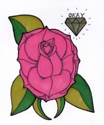 Okay Rose Study